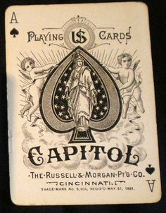 Capitol Playing Card
