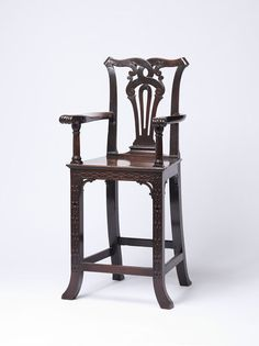 1750 British Child's chair at the Victoria and Albert Museum, London