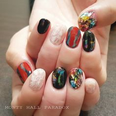 写真の説明はありません。 in 2019 Hot Nails, Hair And Nails, Nail Polish Designs, Nail Art Designs, Nail Envy, Perfect Nails, Holiday Nails, Nail Polish Collection, Nail Trends