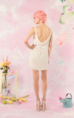 for a bridesmaid alice + olivia   gabby pearl tank dress