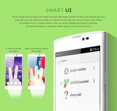 Lead 7 With UI 3.0 !!  Slide 2 fingers to change the theme !! Slide 3 fingers to screenshot !! Everything getting easier with UI 3.0 !!  www.leagoo.com.my #LEAGOO #Malaysia #Smartphone #Lead7 #Solid #Practical #Stylish #Affordable #GST #SamePrice #UI