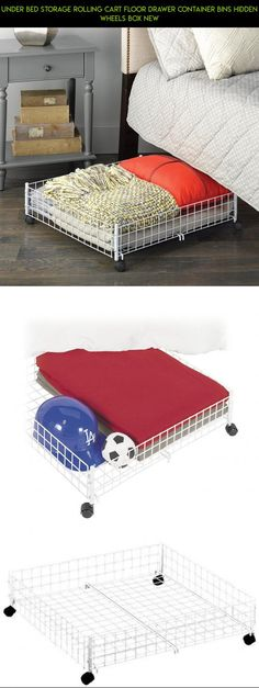 Under Bed Storage Rolling Cart Floor Drawer Container Bins Hidden Wheels Box NEW #camera #kit #storage #tech #racing #under #fpv #products #bed #drone #shopping #technology #parts #plans #gadgets