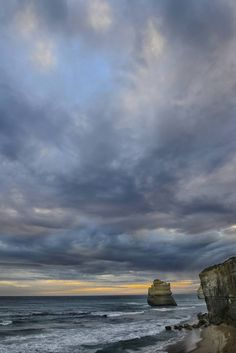 Isolated from the Shore - Limited Edition 2 of 10 Photograph Color Photography, Travel Photography, Digital Photography, Abstract Canvas Art, Sky And Clouds, Ocean Waves, Ciel, Buy Art, Original Art