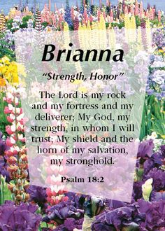 """Brianna """"Strength, Honor"""" - comment here with any name requests!"""