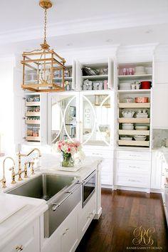 Spring Cleaning Kitchen Cabinet Organizing Tips - Randi Garrett Design