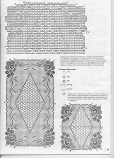 Set Centri rettangolari a Filet