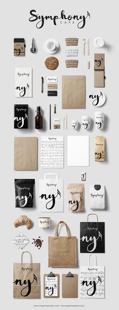 ¡Buenos días y gran semana a todos! :) #Imagen de #Marca de Symphony Cafe #Branding #comunicación #publicidad #diseño