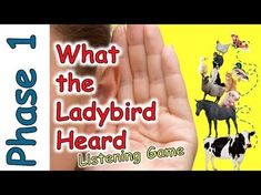 Farm Animal Sounds - Listening Game on the Farm - What the Ladybird Heard Circle Time Activities, Nursery Activities, Phonics Activities, Preschool Phonics, Listening Games, Active Listening, Listening Skills, Teaching Letter Recognition, Teaching Letters