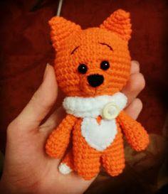 Amigurumi Little Fox-Free Pattern