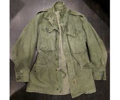 vintage military jackets from the '50s.