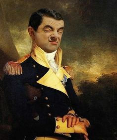 Mr Bean Photoshop, Mr Bean Funny, Caricature Artist, Applis Photo, Stray Dogs Anime, Cute Horses, Classic Paintings, Funny Illustration, Funny Short Videos