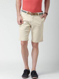 Buy INVICTUS Beige Shorts - Shorts for Men | Myntra