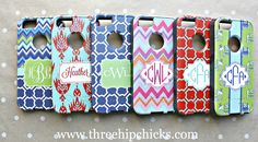 Monogrammed OtterBox for iPhone 5/5s and 5c