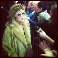 No big deal, just the iconic StevieNicks at The Sound City premiere! #Sundance