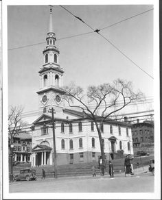 The First Baptist Church to be built in America...in Providence Rhode Island.