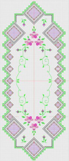 Общая схема дорожки с 7-ю углами