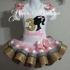 Hey, I found this really awesome Etsy listing at https://www.etsy.com/listing/244057391/barbie-ribbon-tutu-set