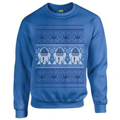 Offiial Star Wars Christmas R2D2 Knit, Men's Sweatshirt: Amazon.co.uk: Clothing