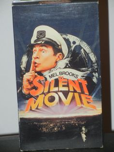 Mel Brooks in Silent Movie on VHS Marty Feldman Dom DeLuise Bernadette Peters Sid Caesar Liza Minnelli Burt Reynolds James Caan Classic 70s by GailsPopCycle on Etsy