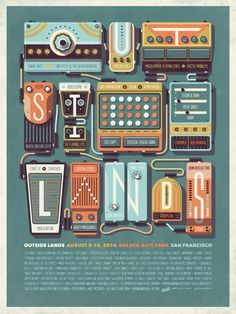 DKNG's Outside Lands Poster