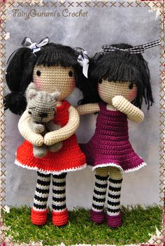 Gorjuss Amigurumi doll - Tuto Madres Hiperactivas - Crocheted by FairyGurumi's Crochet