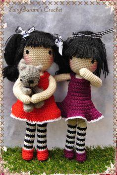 Gorjuss Amigurumi doll - Tuto Madres Hiperactivas - Crocheted by FairyGurumi's Crochet