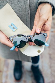 4646401eaa Gift with purpose this holiday season. Every TOMS eyewear purchase helps  restore sight for someone
