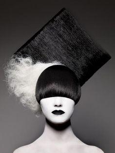 40 ideas hair art white for 2019 Crazy Hair, Big Hair, Your Hair, Pelo Editorial, High Fashion Hair, Avant Garde Hair, Extreme Hair, Hair Photography, Fantasy Hair
