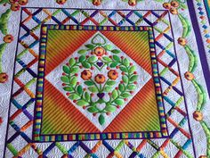 That Crazy Quilty Girl:  Ruffled Roses (lots of pictures)