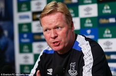 Ronald Koeman is aiming for Europe, but deems Champions League talk 'not realistic'