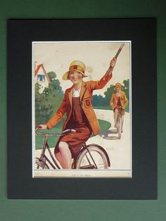Your place to buy and sell all things handmade Vintage Illustrations, Matching Games, Private School, Schoolgirl, Antique Prints, 1930s, Hockey, Daisy, Antiques