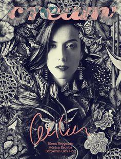Cecilia Suarez para Cream Magazine  Intervencion grafica Ricardo Luevanos