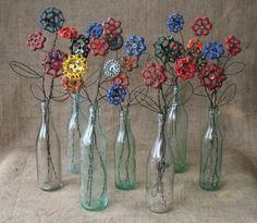 MiloYugo Faucet Handle Flowers