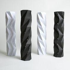 Tower series. Matthew Shlian.