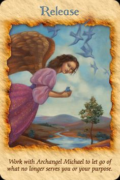 Daily Inspirational message 4/11/2014,  Release, Work with Archangel Michael to let go what no longer suits your purpose.  Read the entire message here. http://www.soulfulheartreadings.com/daily-inspirational-angel-messages/release/