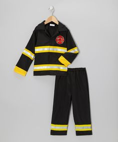 Loving this Fire Fighter Dress-Up Set - Toddler & Kids on #zulily! #zulilyfinds