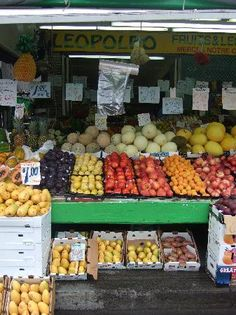 Jean-Talon Market in Rosemont-La Petite-Patrie, Montreal - maybe look around, buy some things there, and have a picnic