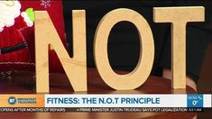 Stay on your health horse with the N.O.T principle! Watch my BT Montreal segment to learn details!