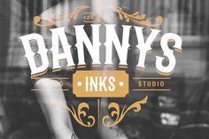 Logo design for Danny's Inks Tattoo Studio.