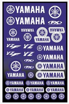 Factory Effex (10-68230) Universal Moto Sticker Kit  Factory Effex Moto Universal Sticker Kits, Yamaha. 8 mil vinyl. 13″ x 19″. For Yamaha For Yamaha 8 mil vinyl For Yamaha For Yamaha 8 mil vinyl 13″x19″ Sheet  http://www.newmotorcyclestore.com/factory-effex-10-68230-universal-moto-sticker-kit/