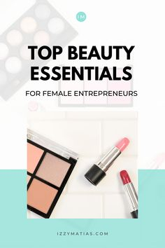What's inside the makeup kit of female entrepreneurs? Find out what beauty essentials female entrepreneurs should have to curate a purposeful makeup kit. #beauty #makeup Makeup Kit, Beauty Makeup, Top Beauty, Beauty Essentials, Creative Business, Entrepreneur, Eyeshadow, Lifestyle, Female