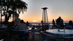 Romantic, relaxing evening with sweet hubby at Castaways Steak & Seafood waterfront restaurant. Watching the sunset! #food #seafood #romantic #romanticdinner #romanticevening #restaurant #lovers #married #marriedwithchildren #steak #water #sunset
