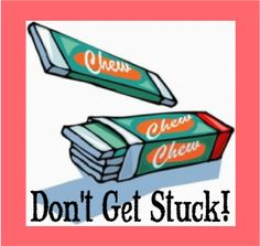 """The Scripture Lady loves creating Bible memory verse games! Here is one called """"Don't Get Stuck!"""" to make memorizing Scripture fun."""
