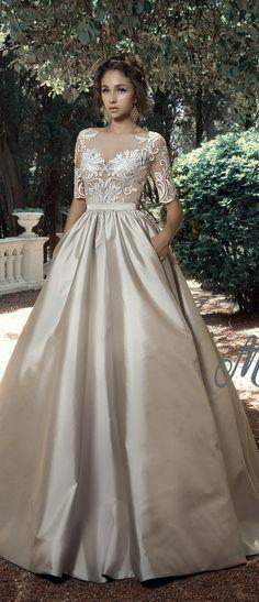 Milva Bridal Wedding Dresses 2017 SorrentobodyskirtSorrento / http://www.deerpearlflowers.com/milva-wedding-dresses/3/