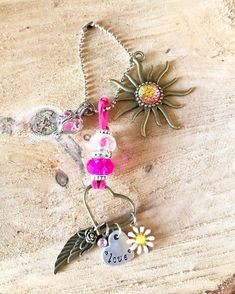 Rear view mirror charm/Rear view mirror accessories/Oil diffuser/Daughter gifts/Essential Oil/Essential oil accessories/Gifts for her/Love Mirror Hangers, Jewelry Mirror, Car Rear View Mirror, Presents For Mom, Feather Necklaces, Felt Ball, Stamped Jewelry, Oil Diffuser, Ball Chain