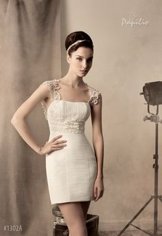 short - On the way to Hollywood | Fashion house Papilio | Wedding dresses and accessoires, evening and cocktail dress