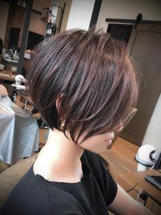 Asian Short Hair, Short Hair Cuts, Shot Hair Styles, Long Hair Styles, Bob Haircut For Fine Hair, Androgynous Hair, Short Bob Hairstyles, Stylish Hair, Bad Hair