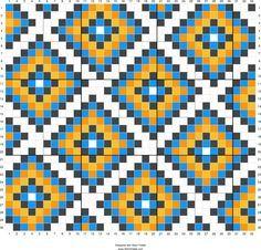 Ideas crochet patterns tapestry cross stitch for 2019 Tapestry Crochet Patterns, Weaving Patterns, Quilt Patterns, Cross Stitch Pattern Maker, Cross Stitch Patterns, Cross Stitch Geometric, Crochet Chart, Crochet Motif, Crochet Cross
