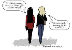 Komiks na halloween, żarty halloweenowe, halloween po polsku Poland, Maine, Haha, Ss, Memes, Ha Ha, Meme