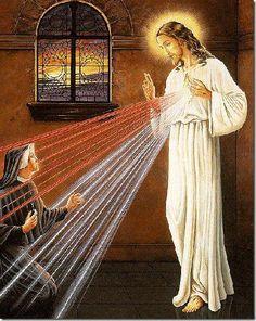 Oh, Sangre y Agua que brotaste del Corazón de #Jesús, manantial de misericordia para nosotros, en Ti confío.